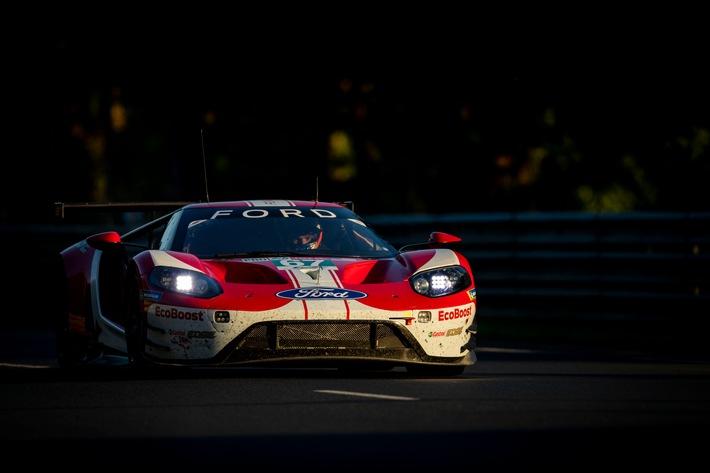 Ford geht aus GTE-Startreihe eins ins 24-Stunden-Abenteuer von Le Mans