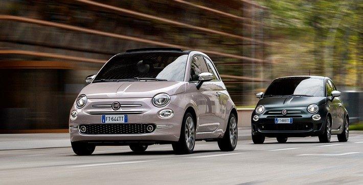 Der Fiat 500 im Modelljahr 2020