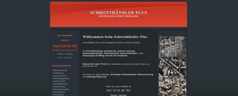 Schrottankauf Bochum und Umgebung
