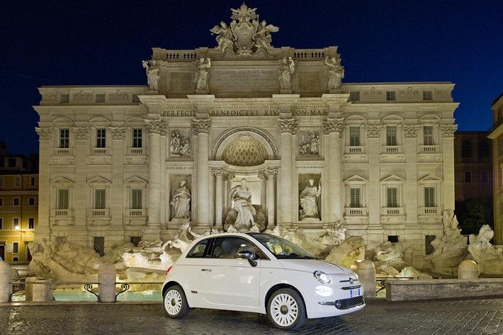 Sondermodell Fiat 500 Dolcevita
