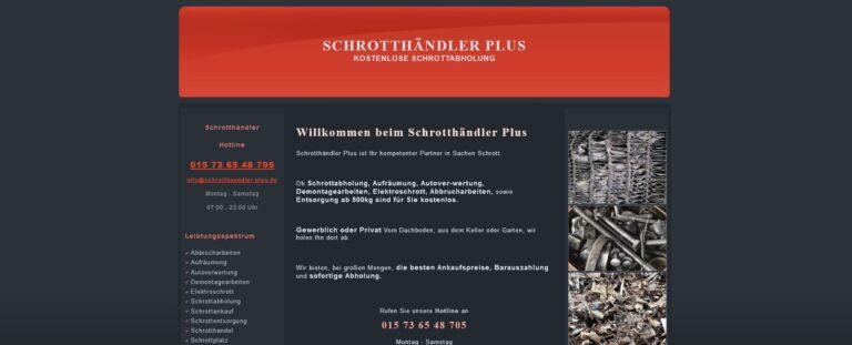 Weil es einfach wichtig ist: Schrott-Recycling in Leverkusen