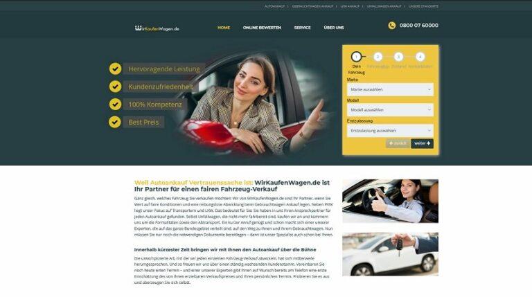 Wir kaufen Wagen in Oberhausen