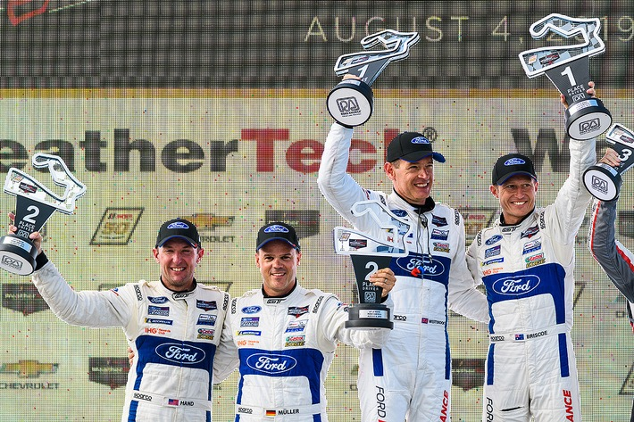 Ford Chip Ganassi Racing feiert mit dem Ford GT Doppelsieg in Road America
