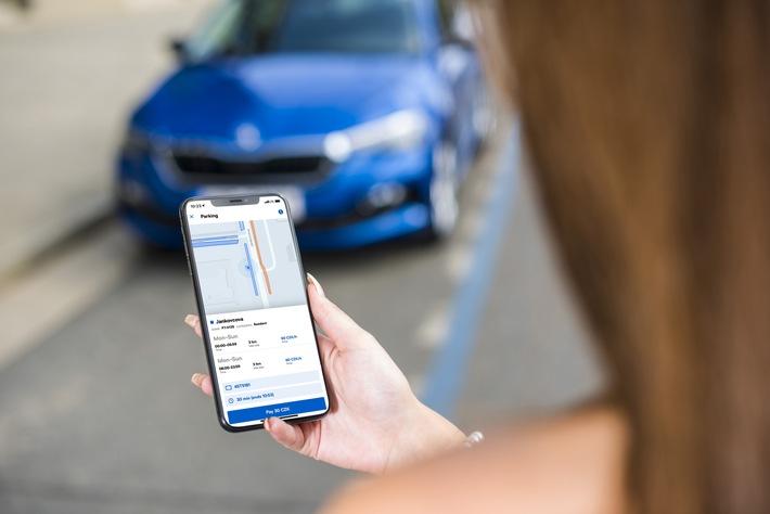SKODA AUTO DigiLab geht mit Mobilitäts-App ,Citymove' online