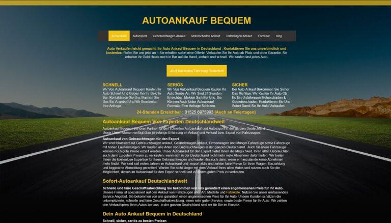 Autoankauf-Bequem.de ihr kompetenter Partner, wenn es um Autoankauf in Aalen geht