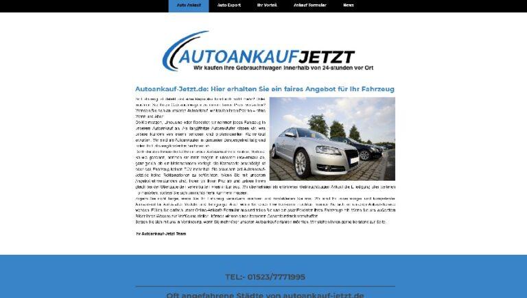 Autoankauf Emden bedeutet zufriedene Geschäftspartner, und ist somit ein Garant für langjährige Geschäftsbeziehungen