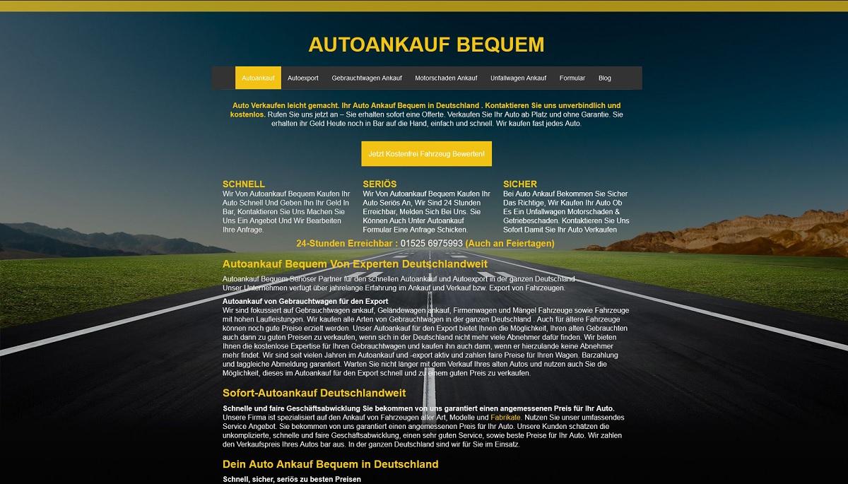 Autoankauf-bequem Tuttlingen