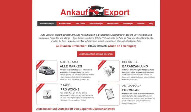 Professioneller Autoankauf in Elmshorn