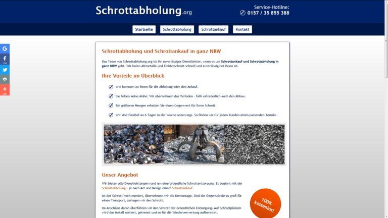 Schrottabholung Leverkusen : 100% Gratis