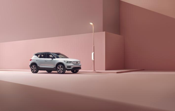 Der neue Volvo XC40 Recharge: Der erste vollelektrische Volvo