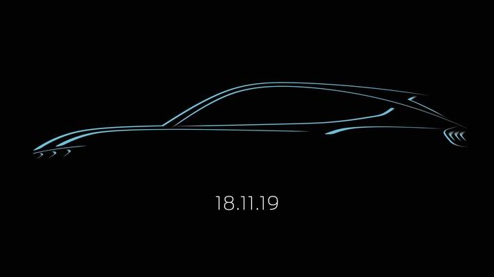 Ford enthüllt das neue, vom Mustang inspirierte, voll-elektrische SUV