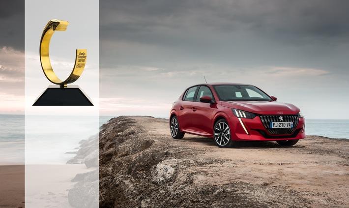 """""""Auto Trophy"""" für den neuen PEUGEOT 208"""