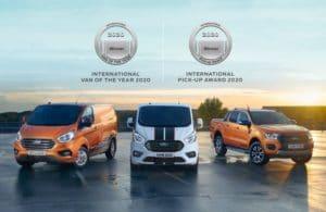 """Doppelte Ehre für Ford: """"Internationaler Transporter des Jahres"""