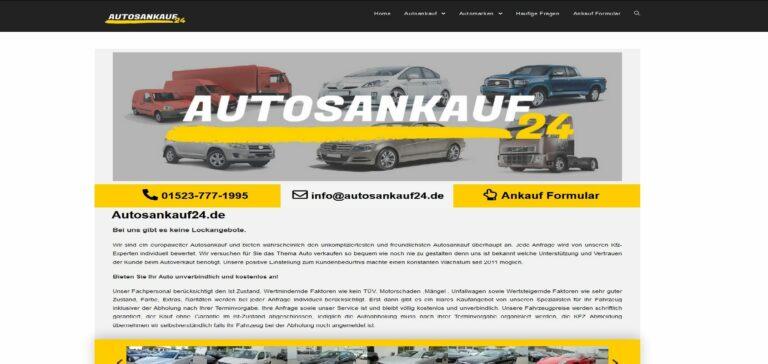 Unfallfagrzeuge Ankauf bei Autosankauf.de bietet Top Preise