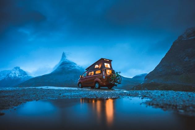 """Video """"Great Escapes"""": Auf der Jagd nach Abenteuern und dem Sonnenlicht – im Ford Nugget unterwegs in Norwegen"""