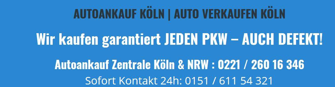 Auto Verkaufen Köln : autoankauf k ln auto verkaufen leicht gemacht automobil wirtschaft automobilwirtschaft ~ Aude.kayakingforconservation.com Haus und Dekorationen