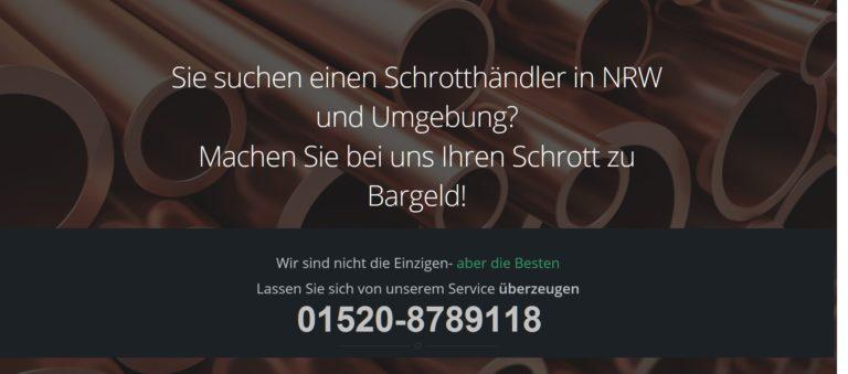 Schrottabholung Leverkusen – Schrottankauf zu Bestpreisen