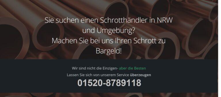 Schrottabholung Ratingen – Schrotthändler NRW Kostenlose Abholung