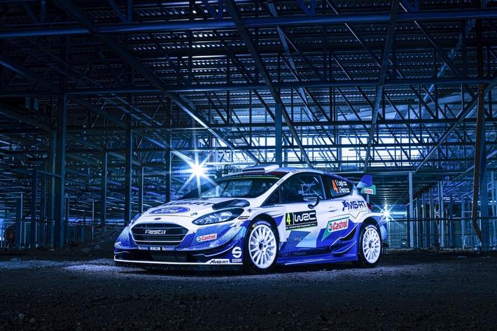 M-Sport Ford nimmt das Wetter-Roulette der Rallye Monte-Carlo mit vollem Einsatz in Angriff