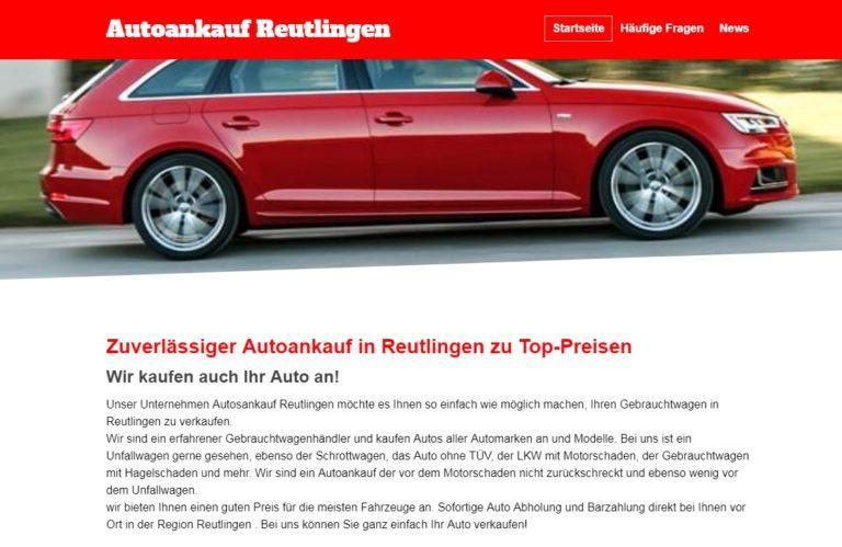 Autoankauf Reutlingen   Zuverlässiger Autoankauf in Reutlingen zu Top-Preisen