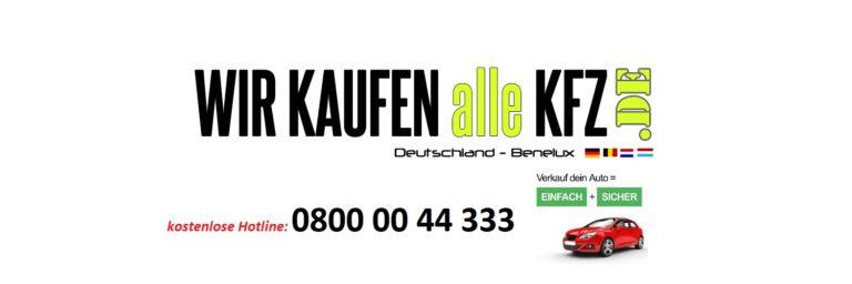 Wir-kaufen-alle-KFZ.de übernimmt nahezu alle Fahrzeuge, gerne auch mit Motorschaden in Aachen