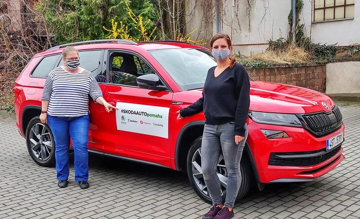 #SKODAAUTOhelps: SKODA AUTO mit umfassendem Engagement im gemeinsamen Kampf gegen das Corona-Virus