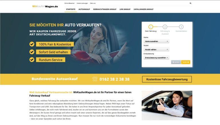 Autoverschrottung und Autoentsorgung wirkaufenwagen.de