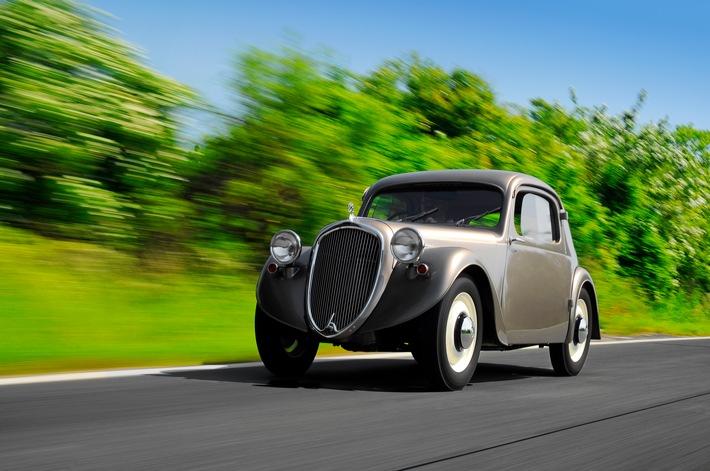 Weniger bekannte Modelle aus 125 Jahren SKODA AUTO: der SKODA SAGITTA