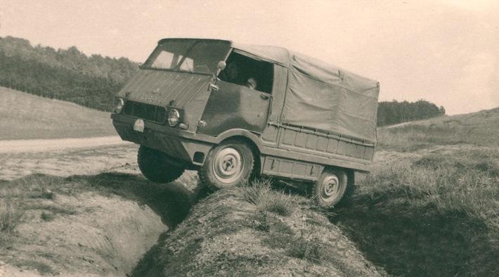 Weniger bekannte Modelle aus 125 Jahren SKODA AUTO: der Typ 998 ,Agromobil' von 1962