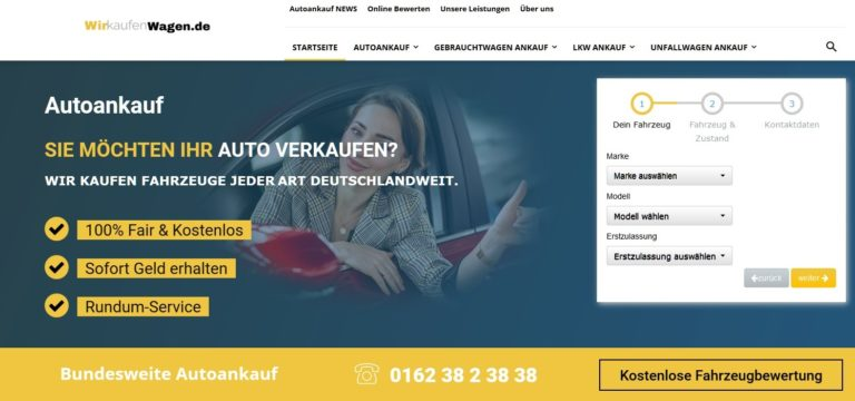 Autoankauf Seeberg: PKW und LKW ankauf mit WirkaufenWagen.de