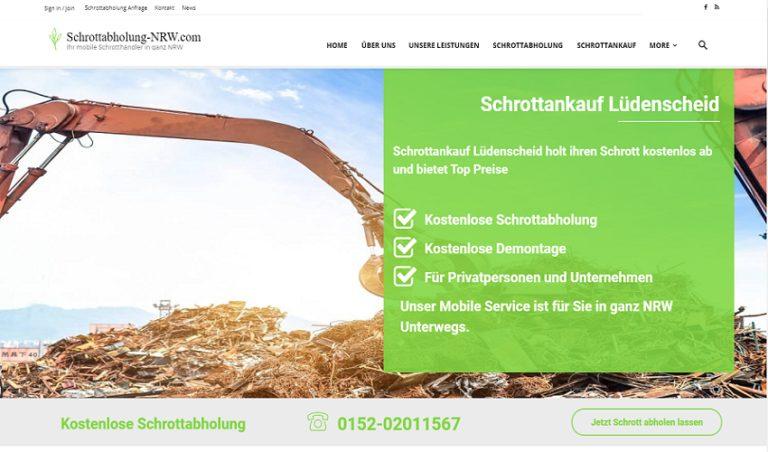 Mit dem Schrottankauf Lüdenscheid ist es einfach, Metallschrott loszuwerden