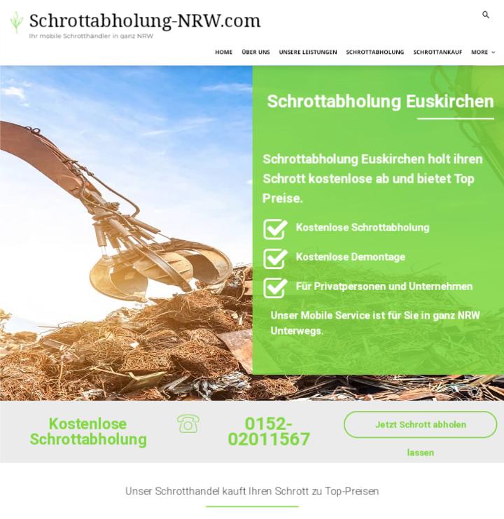 Der Schrottabholung Euskirchen bietet realistische Preise und unkomplizierte Abläufe