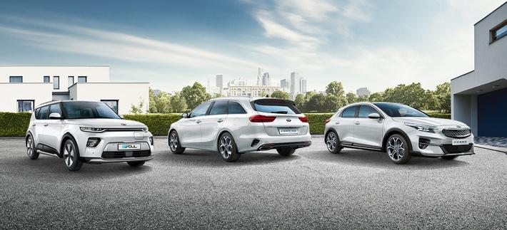ADAC SE erweitert Elektromobilitätsangebot um drei Kia-Modelle / Der elektrische Kia e-Soul* sowie die Plug-in-Hybrid-Versionen von Kia Ceed Sportswagon* und Kia XCeed* ergänzen die Leasingpalette