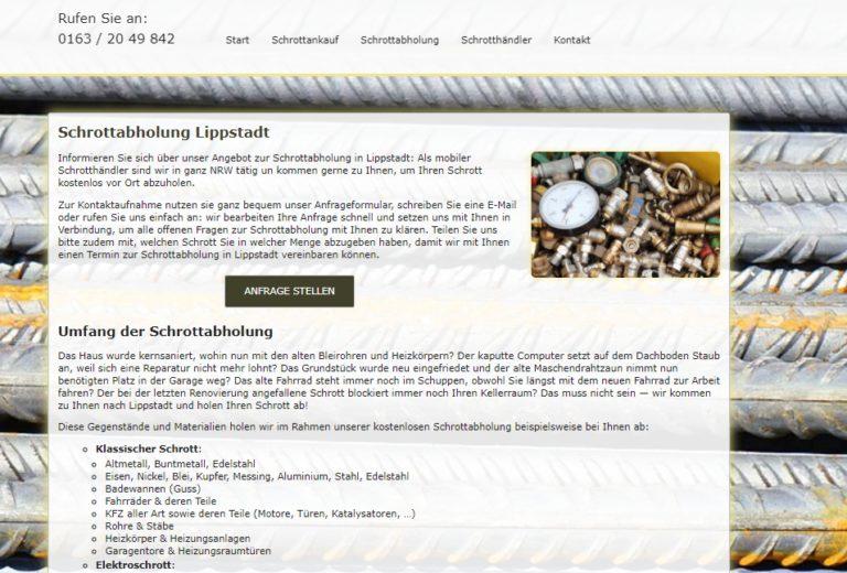 Schrottabholung Lippstadt – Metall als Rohstoff kann sehr gut recycelt werden