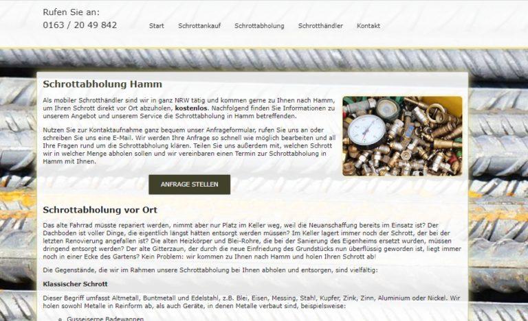 Führen Sie Ihren Metallschrott dem Schrott-Recycling zu – Schrottabholung in Hamm