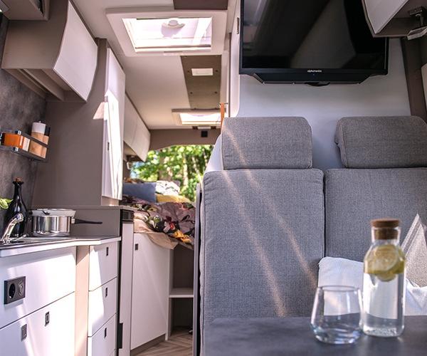 Campervan-Flexibilität trifft Liner-Komfort: Microliner Yucon by FRANKIA jetzt mit neuem Grundriss
