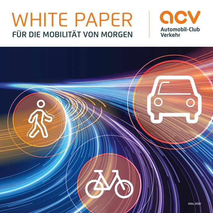 ACV legt White Paper vor für eine bessere Verkehrspolitik
