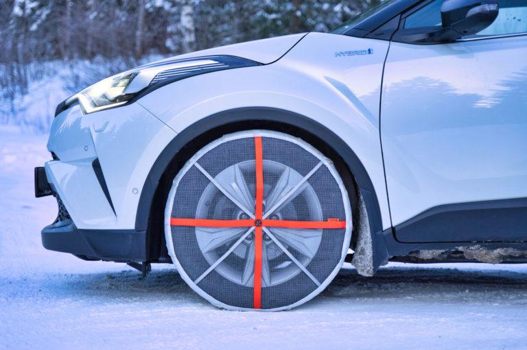 AutoSock entspricht Schweizer Vorschriften bei Schneekettenpflicht