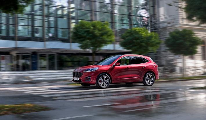 Neuer Ford Kuga erreicht Spitzenplatz in seiner Klasse beim Test von Fahrer-Assistenzsystemen durch Euro NCAP