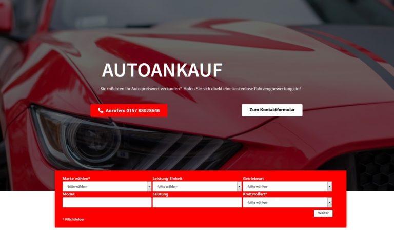 Autoankauf Erfurt und Umgebung? Möchten Sie Ihr Auto in Erfurt und Region verkaufen