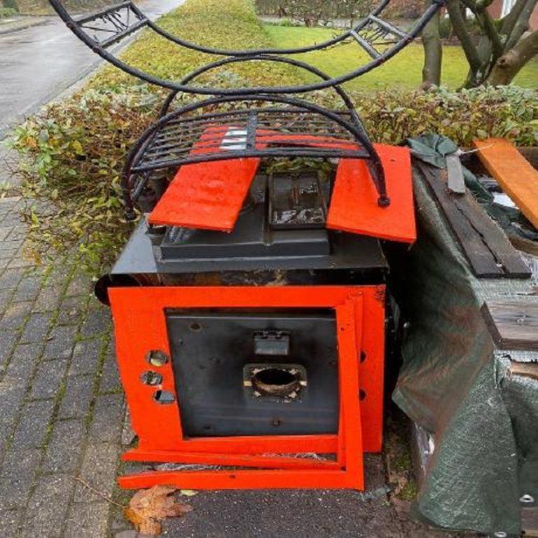 Der mobile Schrotthändler in Recklinghausen holt Altmetallschrott beim Kunden ab