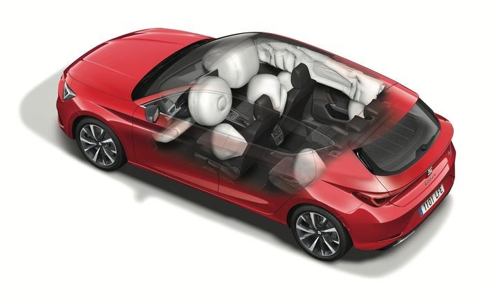 Euro NCAP Crashtest: Bestnoten für den neuen SEAT Leon