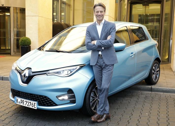 30.381 Zulassungen in 2020 – Zuwachs um 222% Prozent Renault ZOE verdreifacht Zulassungen – 2020 erneut Deutschlands Elektroauto Nummer eins