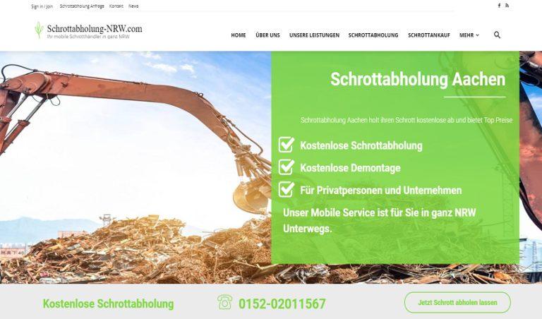 Kostenlose Metall und Elektroschrott Abholung und Entsorgung in Aachen