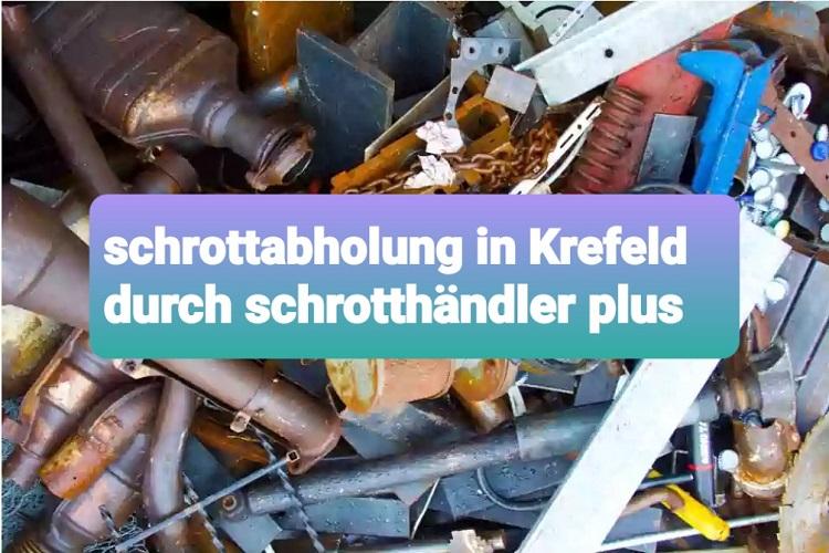 Herzlich willkommen beim kostenlosen Schrottabholung in stadt Krefeld Und Umgebung