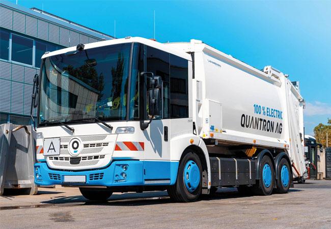Quantron AG und Fraikin Deutschland werden E-Mobility-Vertriebspartner
