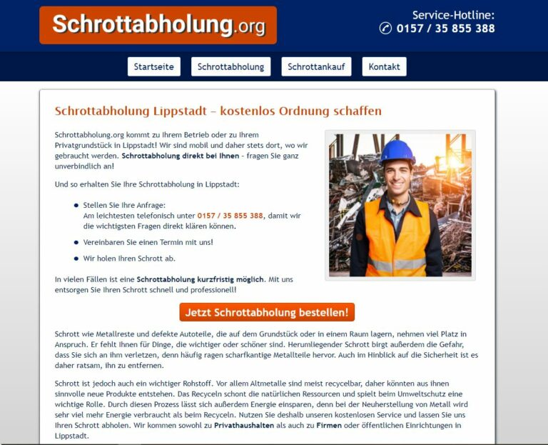 Schrottabholung Lippstadt: Wichtiger als je zuvor: Schrott-Recycling zum Schutz der Ressourcen