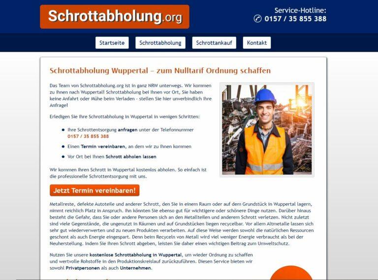 Die Schrottabholung in Wuppertal ermöglicht es allen Haushalten, ihren Schrott kostenlos abholen zu lassen