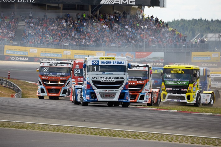 Internationaler ADAC Truck-Grand-Prix 2021 findet als Hybrid-Event statt Saison-Highlight der FIA European Truck Racing Championship vom 16. bis 18. Juli am Nürburgring