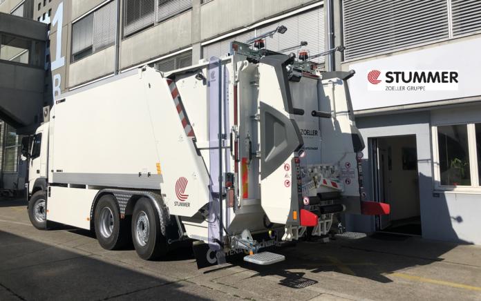 ZOELLER und STUMMER bieten unter folgendem Branding vollelektrische Abfallsammelfahrzeuge an